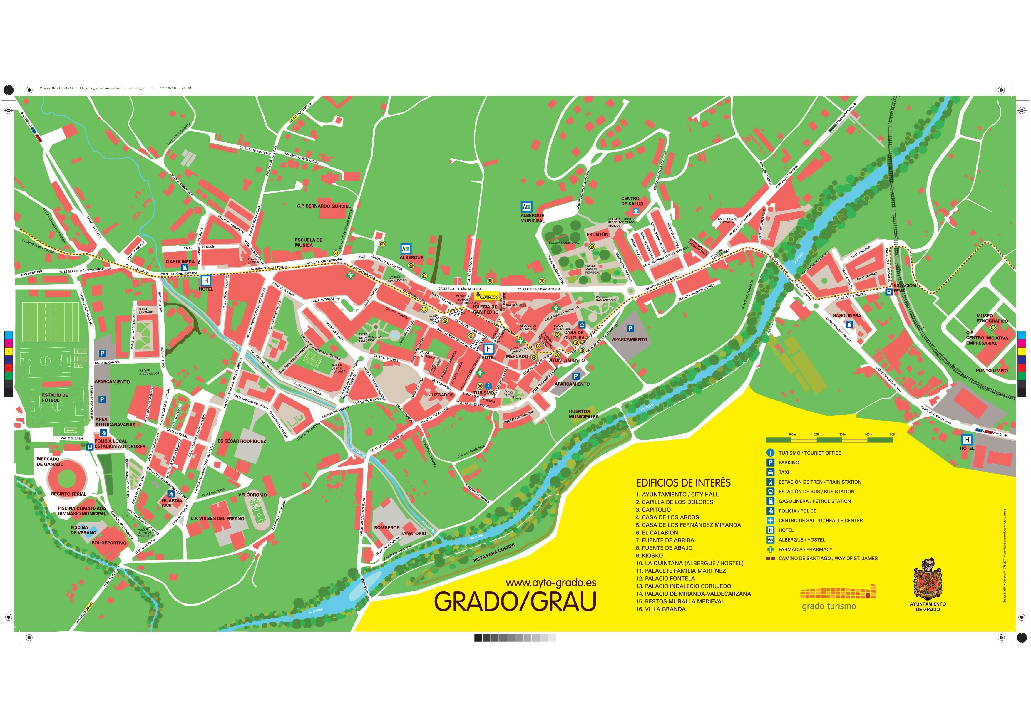 Mapas Y Planos Ayuntamiento De Grado
